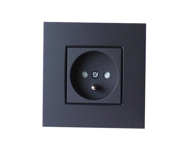 prises de courant encastres apparentes niko couleur. Black Bedroom Furniture Sets. Home Design Ideas